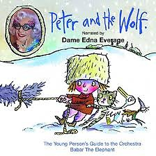Peter and the Wolf Narrated by Dame Edna Everage CD3