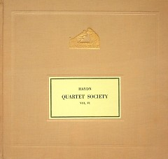 The Haydn String Quartet Society Vol VI