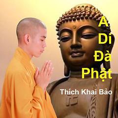 A Di Đà Phật - Thích Khai Bảo