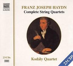 Franz Joseph Haydn: Complete String Quartets CD 13 - Kodály Quartet