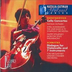 Shostakovitch Cello Concertos/ Schnittke Dialogue  - Kirill Kondrashin,Various Artists