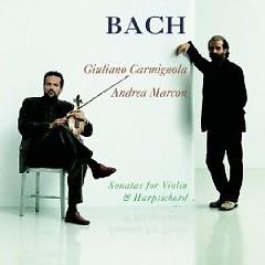 Bach - Sonatas For Violin And Harpsicord CD 2