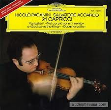 Paganini - 24 Caprices For Solo Violin (No. 1) - Salvatore Accardo