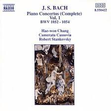Bach - Piano Concertos Vol 1