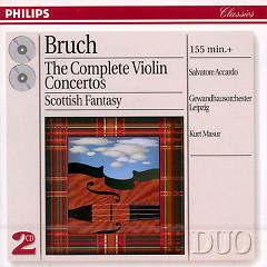 Bruch - The Complete Violin Concertos CD 1 - Salvatore Accardo,Kurt Masur,Leipzig Gewandhaus Orchestra