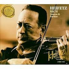 Bach - Sonatas And Partitas CD 1 - Jascha Heifetz