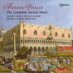 Antonio Vivaldi - The Complete Sacred Music Vol 11 (No. 3)