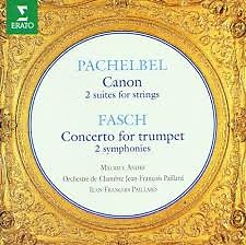 Pachelbel - Canon; Fasch - Concerto For Trumpet (No. 1) - Jean François Paillard