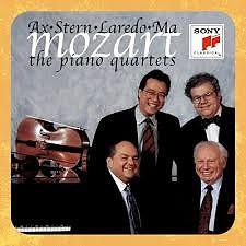 Mozart - The Piano Quartets   - Isaac Stern,Emanuel Ax,Jaime Laredo,Yo-Yo Ma