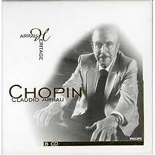 Arrau Heritage - Chopin CD 8