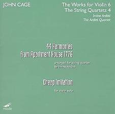 John Cage - 44 Harmonies From Apartment House 1776; Cheap Imitation CD 1 (No. 2)
