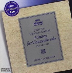 Bach - 6 Suites For Solo Cello CD 2 - Pierre Fournier