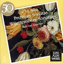 C.P.E. Bach - Prussian Sonatas; Württemberg Sonatas CD 3