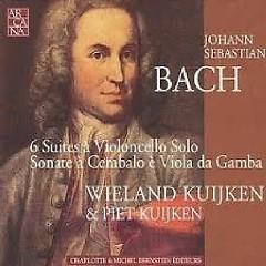 Bach - 6 Suites à Violoncello Solo; Sonate à Cembalo è Viola Da Gamba CD 3 - Piet Kuijken,Wieland Kuijken