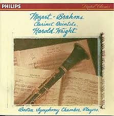 Brahms & Mozart - Clarinet Quintets - Harold Wright,Boston Symphony Chamber Players