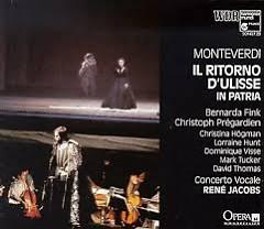 Monteverdi - Il Ritorno Di Ulisse In Patria CD 1  - René Jacobs,Concerto Vocale