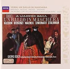 Verdi - Un Ballo In Maschera CD 2 - Sir Georg Solti,Various Artists