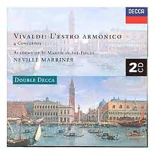 Vivaldi - L'Estro Armonico CD 2  - Sir Neville Marriner,Academy Of St Martin InThe Fields