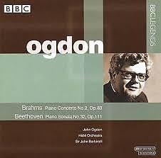 Brahms - Piano Concerto No. 2, Op. 83; Beethoven - Piano Sonata No. 32, Op. 111   - John Ogdon
