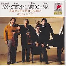 Brahms - The Piano Quartets, Opp. 25, 26 & 60 CD 2 - Isaac Stern,Emanuel Ax,Yo-Yo Ma