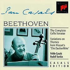 Beethoven - The Complete Cello Sonatas; Variations On Themes From Mozart's Die Zauberflöte CD 2