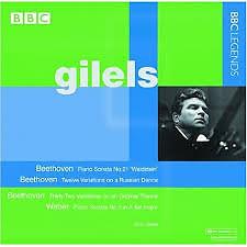 Gilels Plays Beethoven & Weber  - Emil Gilels
