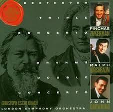 Brahms - Double Concerto; Beethoven - Triple Concerto - Christoph Eschenbach,London Symphony Orchestra