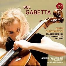 Shostakovich - Cello Concerto No 2, Sonata For Cello And Piano - Sol Gabetta