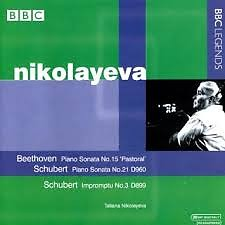 Nikolayeva Plays Beethoven, Schubert  - Tatiana Nikolayeva