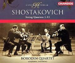 Shostakovich - String Quartets 1-13 CD 3 (No. 2) - Borodin Quartet