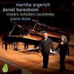 Piano Duos  - Martha Argerich,Daniel Barenboim