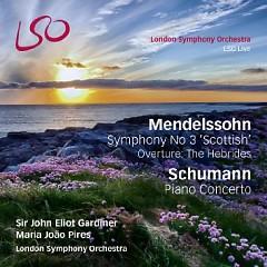 Mendelssohn - Symphony No 3, Schumann - Piano Concerto CD 1