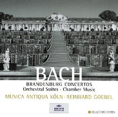 Bach - Brandenburg Concertos, Orchestral Suites, Chamber Music CD 1