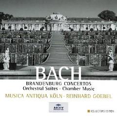 Bach - Brandenburg Concertos, Orchestral Suites, Chamber Music CD 2 (No. 2)