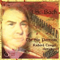 Bach - The Six Partitas CD 1 (No. 1) - Richard Troeger