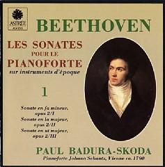 Beethoven - Les Sonates Pour Le Pianoforte Sur Instruments D'epoque CD 1