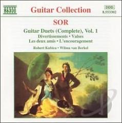 Sor - Complete Guitar Duets, Vol. 1 (No. 1)