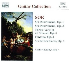 Sor - Guitar Music Op. 1 - Op. 5 (No. 1)
