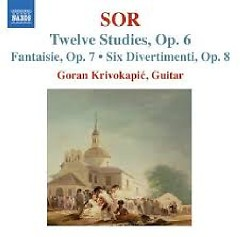 Sor - Guitar Music Op. 6 - Op. 9 (No. 1) - Goran Krivokapic