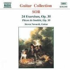 Sor - 24 Exercises, Op. 35; Pièces De Société, Op. 33 (No. 2)