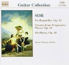 Sor - Guitar Music Op. 46 - 48 & 50, 51 (No. 2) - Jeffrey McFadden
