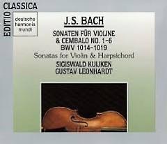 J.S.Bach - Sonaten Für Violine & Cembalo No. 1 - 6 BWV 1014 - 1019 CD 1
