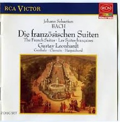 J. S. Bach - The French Suites; Die Franzosischen Suiten CD 1