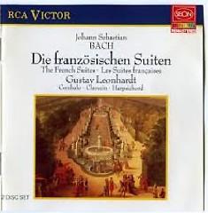 J. S. Bach - The French Suites; Die Franzosischen Suiten CD 2 (No. 1)