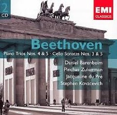 Beethoven - Piano Trios Nos. 4 & 5; Cello Sonatas Nos. 3 & 5 CD 2