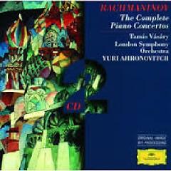 Rachmaninov - Complete Piano Concertos CD 2
