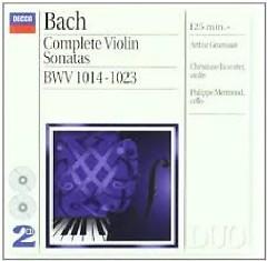 Bach - Complete Violin Sonatas CD 1 (No. 2) - Arthur Grumiaux, Philippe Mermoud, Christiane Jaccottet