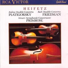 Heifetz Plays Brahms, Bach, Mozar