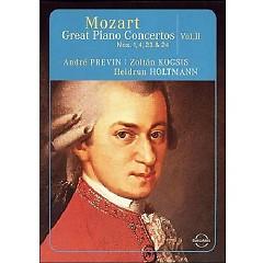 Mozart - Great Piano Concertos Nos. 1, 4, 23, 24 - Heidrun Holtmann, Zoltán Kocsis, Andre Previn