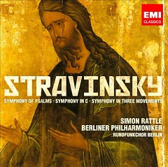 Stravinsky - Symphonies Of Psalms, Symphonies In C And Symphonies In Three Movements